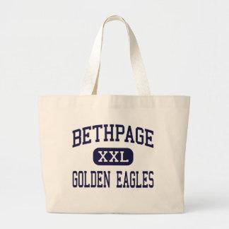 Bethpage - golden eagles - High - Bethpage Tote Bag