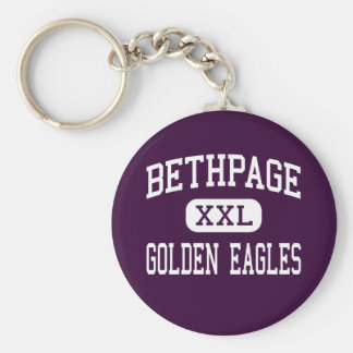 Bethpage - golden eagles - High - Bethpage Key Chains