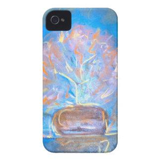 Beths Flowers Blue Case-Mate iPhone 4 Case
