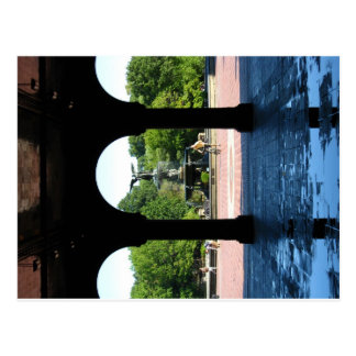 Bethsda Fountain Postcard