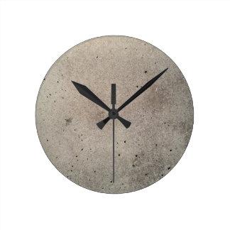 beton concrete hormigón  béton round clock