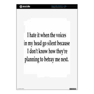 Betraying Voices Decal For The iPad 2