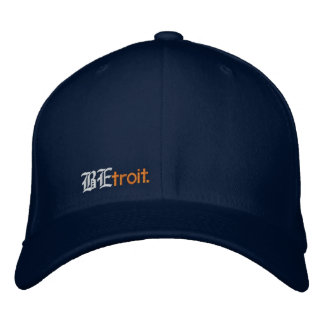 BEtroit. fitted Embroidered Baseball Hat