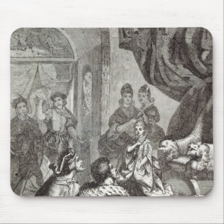 Betrothal of the French Princess to Richard II Mouse Pad