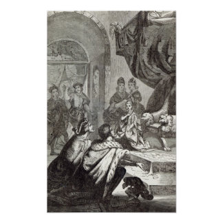 Betrothal of the French Princess to Richard II Poster