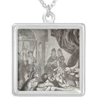 Betrothal of the French Princess to Richard II Silver Plated Necklace