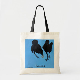 Betrothal tote budget tote bag