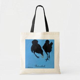 Betrothal tote bags