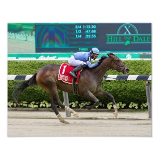 Betsy Blue The Bouwerie Stakes Photo Print