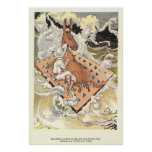 Betsy Bobbin and Hank the Mule adrift Poster