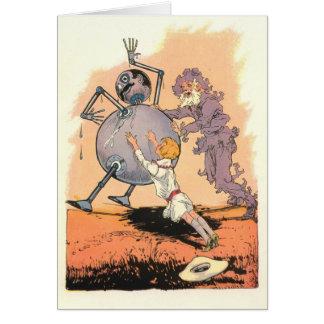 Betsy Bobbin, The Shaggy Man and Tik-Tok Greeting Card