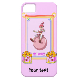 Betsy bubblegum with cookie houses iPhone SE/5/5s case