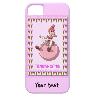 Betsy bubblegum with ice creams iPhone SE/5/5s case