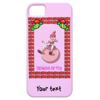 Betsy bubblegum with toffees iPhone SE/5/5s case