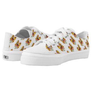 Betsy Custom Zipz Low Top Shoes Printed Shoes