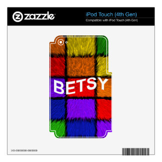BETSY iPod TOUCH 4G SKIN