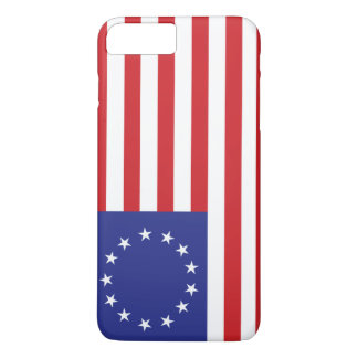 Betsy Ross 13-Star U.S. Flag iPhone 7 Plus Case