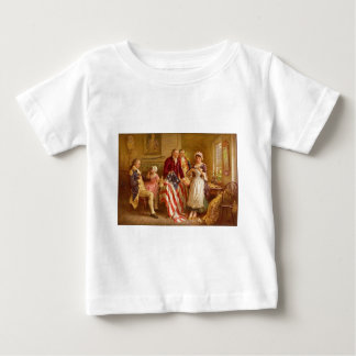 Betsy Ross 1777 by Jean Leon Gerome Ferris Baby T-Shirt