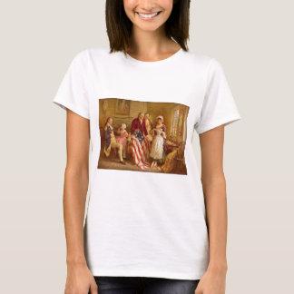 Betsy Ross 1777 by Jean Leon Gerome Ferris T-Shirt