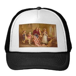 Betsy Ross 1777 de Jean León Gerome Ferris Gorra