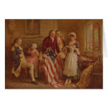 Betsy Ross, 1777, JLG Ferris, c1930 Greeting Card