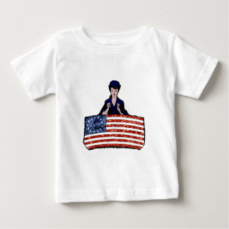 betsy ross american flag baby T-Shirt