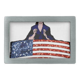 betsy ross american flag belt buckle