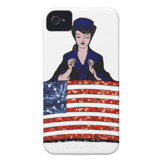 betsy ross american flag Case-Mate iPhone 4 case