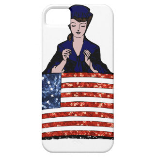 betsy ross american flag iPhone SE/5/5s case