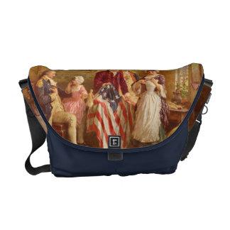 Betsy Ross American Flag Messenger Bag