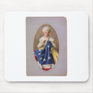 Betsy Ross, c1908, G. Liebscher Mouse Pad