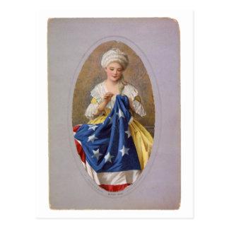 Betsy Ross, c1908, G. Liebscher Postcard