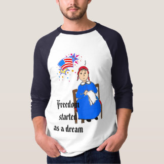 Betsy Ross- Customized T-Shirt