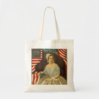 Betsy Ross First American Flag Vintage Portrait US Tote Bag