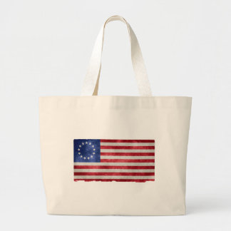 Betsy Ross Flag Large Tote Bag