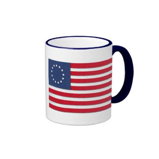 """Betsy Ross"" Flag Mug"
