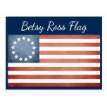 Betsy Ross Flag Postcard