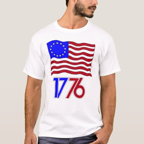 Betsy Ross Flag T_Shirt