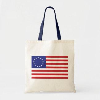 Betsy Ross Flag Tote Bag