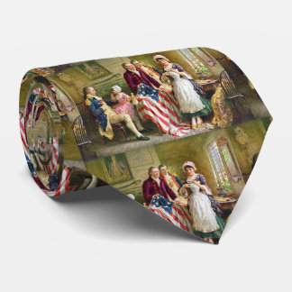 Betsy Ross George Washington Tie