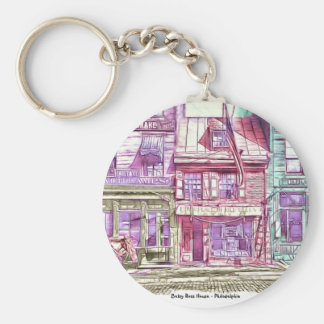 Betsy Ross House Philadelphia Keychain
