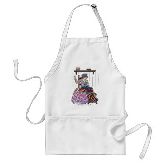 Betsy Ross Makes a Flag Memorial Day Adult Apron