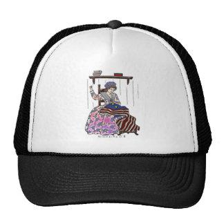 Betsy Ross Makes a Flag Memorial Day Trucker Hat