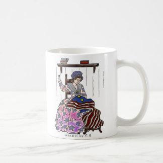 Betsy Ross Makes a Flag Memorial Day Coffee Mug