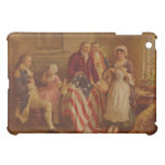 Betsy Ross making the first American Flag iPad Mini Cases