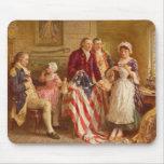 Betsy Ross Mousepad Tapetes De Raton
