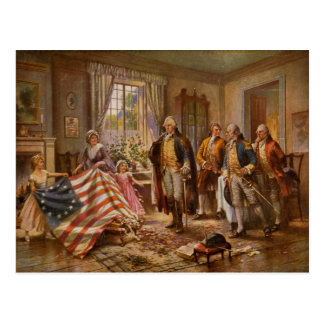Betsy Ross Post Cards