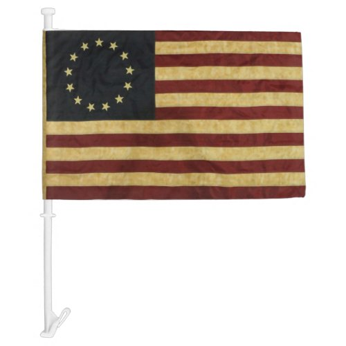 Betsy Ross United States Car Flag