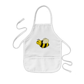 Betsy the Buzzy Bumble Bee Cartoon Kids' Apron