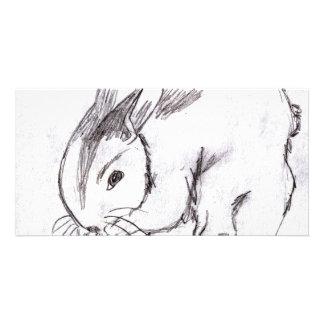 Betsybug Bunny Photo Greeting Card